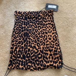 Pretty little thing cheetah skirt 😍